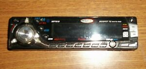 Jensen MP7610 Faceplate Only- UnTested