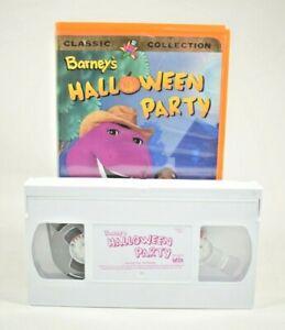 Barney & Friends - Barney's Halloween Party (VHS, 1998)