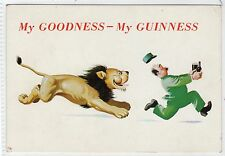 MY GOODNESS - MY GUINESS: Advertising comic postcard (C13839)