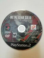 Metal Gear Solid 2: Sons of Liberty (Sony PlayStation 2, 2001) disk only