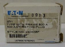 EATON Cutler Hammer 800a Rating Plug for MCM Frame Mining Duty Breakers NEW