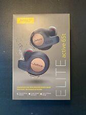 Jabra Elite Active 65t True Wireless Bluetooth Headphones Copper Navy - New