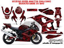 AMR RACING DEKOR GRAPHIC KIT SUZUKI GSX-R 600/750/1000/1300 SKULLS N HAMMERS B