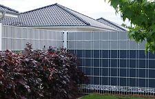 Zaunfolie Sichtschutz 2,55€/m Zaunblende Streifen Gitterzaun Zäune Zaun-streifen