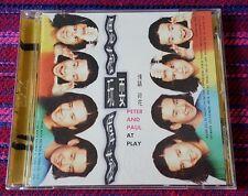 Peter & Paul ( 偲菘 偉菘 ) ~ Peter & Paul at Play ( Taiwan Promo Press ) Cd