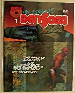 RICH CORBEN'S DENSAGA MAGAZINE  - ISSUE #1 - VERY RARE NEAR MINT COPY - 1992
