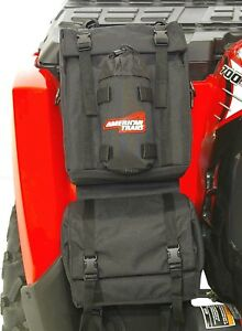 American Trails ATV Fender Bag Black Accessory Pack Luggage Storage Cargo UTV