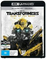 Transformers: Dark of the Moon-4K (UHD)(2 DISC) (BLU-RAY)-Brand New-Still Sealed