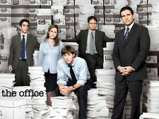 "02 The Office TV Series Comedy Cast Steve Carell Poster 24X36"" Nice Home Decor"