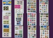 United States Stamp Collection Set, Numbered Blocks Blocks & Postage Stamps