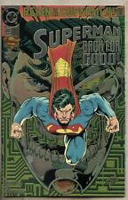 Superman #82-1993 nm- 9.2 DC 1st Chromium cover Superman returns to being Supes
