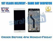 New Huawei P9 Lite Touch Digitizer LCD Screen Assembly With Frame White