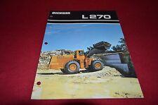 Michigan L270 Wheel Loader Dealer's Brochure DCPA4
