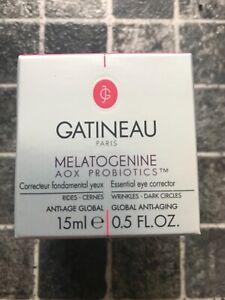 Gatineau Melatogenine AOX Probiotics Essential Eye Corrector Face Cream 15ml NEW