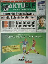 Programm 1999/00 VfB Lübeck - Eintracht Braunschweig