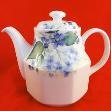 "COTTAGE LANE Tea Pot 7.5"" tall Royal Doulton NEW NEVER USED Oven Freezer Proof"