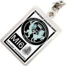 British Secret Agent MI6 SIS Scotland Yard ID Badge Card Prop Costume & Cosplay