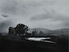 Liliane de Cock Photo Litho 36x28cm Farm Fog San Juan Bautista California 1966