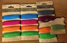 Darice Natural Bamboo Cord Card 13/30ft Lot  20# Multi Color