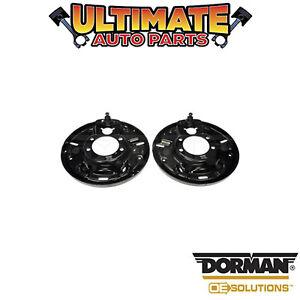 Dorman: 924-659 - Left and Right Rear - Brake Dust Shield / Backing Plate
