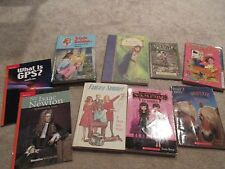 Lot of 9 Softcover Chapter Books, Vampire, Spiderwick, Isaac Newton