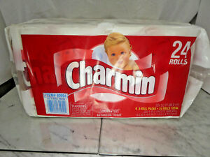 Vintage 1997 24 Roll Charmin Toilet Paper Prop 90s Rare! 1 of 2!