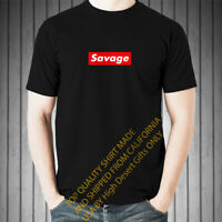 21 Savage Supreme Red Box Style Inspired Men's T-Shirt