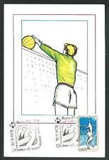 Italia Repubblica -1978 -  Camp. Mondiali Pallavolo - Cartolina Filatelica