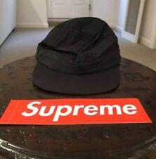 4b97a7d6aee Supreme Black Diagonal Stripe Nylon Hat SS18