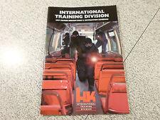 HECKLER & KOCH HK INTERNATIONAL TRAINING DIVISION  1997 COURSE SCHEDULE