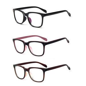 Myopia Glasses Men's Plastic Frame Short Sighted Lenses -0.50 -1.00 -1.25~