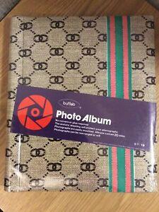 Buffalo Photo Album - 20 Sides with Acetate Sheeting - New & Sealed