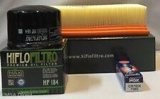 Piaggio 500 X9 2003 to 2010 Service Kit (Air / Oil Filter & Iridium Spark Plug)