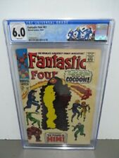 Fantastic Four #67 CGC 6.0 1967 WHITE PAGES! 1st app. Him (Warlock)