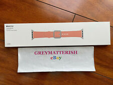 SEALED Classic Buckle 42/44mm*SOFT PINK* Apple Watch LEATHER Band MRP62AM/A