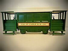 Avon Cable Car Decanter Cal. St. Cable Cable R.R. Co. Wild Country After Shave