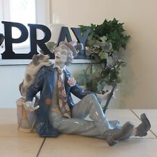 Lladro Clown w/ Dog Musical Partners # 5763 Mint Condition Fast Shipping! $1075