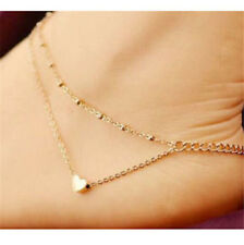 Bracelet Foot Jewelry Sandal Beach ☆ Fd4128 Women Gold Plated Ankle Chain Anklet
