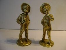 LOT DE DEUX BELLES FIGURINES EN BRONZE DEBUT 1900