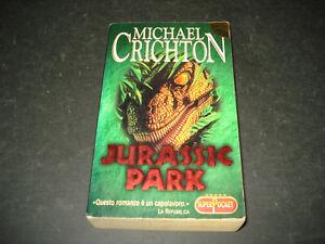 JURASSIC PARK  MICHAEL CRICHTON EDIZIONE GARZANTI 1999