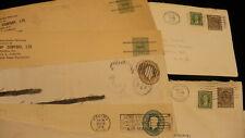 Random assortment Canada post vintage cancellations lot 23 1930's - 1960's P554