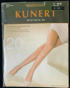 Kunert Mystique 20 Tights Strumpfhose Transparent Matt  Size 44-46
