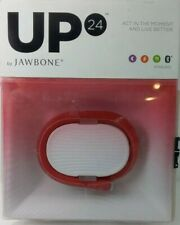 New UP 24 BY Jawbone Activity Tracker - Large - Red - Brand New