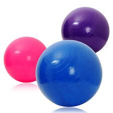 65cm ANTI BURST GYM EXERCISE SWISS YOGA FITNESS BALL PREGNANCY BIRTHING + PUMP!
