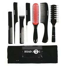 Hairtools Head Jog 7 piece tool roll brush and comb set