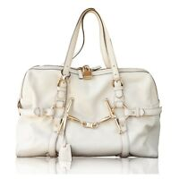 GUCCI IVORY 85TH ANNIVERSARY BOSTON BAG