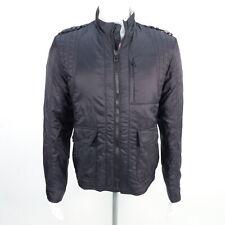BOSS ORANGE Jacke Herren Schwarz Gr. DE 50 Coat Jacket Übergangsjacke Gefüttert