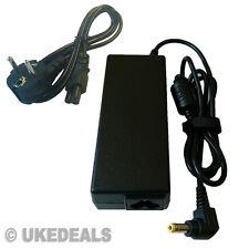 Para Toshiba Satellite Pro l450d-12t portátil cargador adaptador de la UE Chargeurs