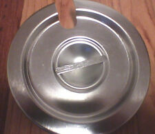 """Stainless Steel Covers 7.5"""" Across Lid Vollrath Slotted Cover"""