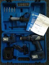 SONDERAKTION ! HAMACH -HCD 18V Bohr/Schlag Akkubohrmaschine mit Koffer